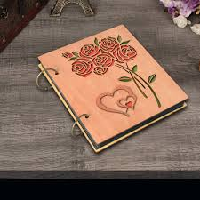 4 X 6 Photo Album Cossyhome Double Heart Roses Photo Album 4x6 Photo Book Albums