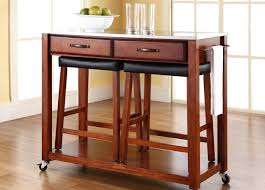 Kitchen Islands With Drop Leaf Refreshed Leather Kitchen Stools With Backs Tags Swivel Counter