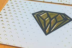 Business Cards Foil Raised Foil 4over4 Com