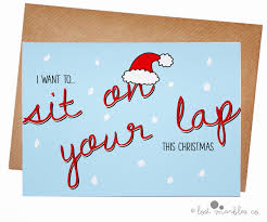 flirty holiday cards guaranteed to land you on the naughty list