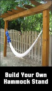 Hammock Stands Best 25 Hammock Stand Ideas On Pinterest Diy Hammock Stand