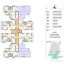 sony centre floor plan doshi oriana perungudi chennai residential project