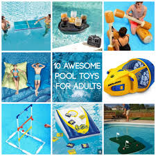 10 awesome pool toys for adults baker pool construction