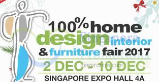 100 home design u0026 furniture fair 2017 at singapore expo from 2