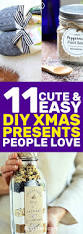 How To Make Christmas Gifts Handmade Ideas 11 Cute And Easy Diy Christmas Presents People Love