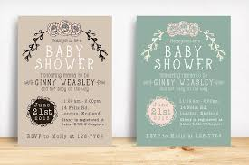 baby shower invitation invitation templates creative market