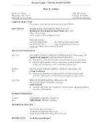 social worker resume exles social worker resume objective resume objective exles mental