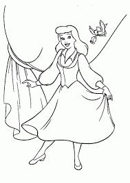 cinderella drawings kids coloring