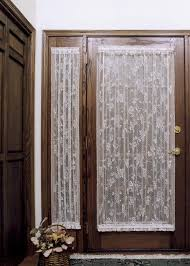 decorating door curtins lace curtains for french doors french