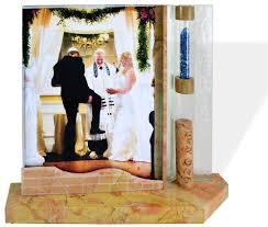 jewish wedding gifts shards wedding photo frame jerusalem stone frame
