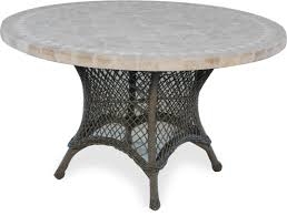 Stone Top Patio Table by Fire Tables Colonial Fire Pit Table Granite Dining Height 48
