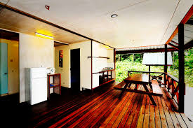 holiday bungalow in suriname south america at colakreekpark