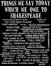 12 common phrases which we owe to shakespeare so bad so