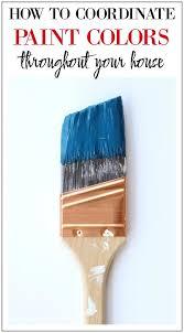 best 25 coordinating paint colors ideas on pinterest