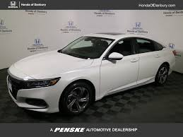 2018 new honda accord sedan ex cvt at honda of danbury serving
