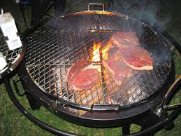 Fire Pit Grille by A Slice Of Texas Cowyboy Grill Cooking Off Grid And Review