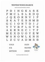 printable word searches for kids