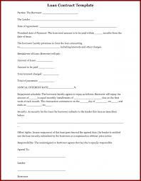 stunning simple loan agreement sample images resume samples