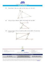 mathbuster practice worksheet cbse class 9 chapter 6