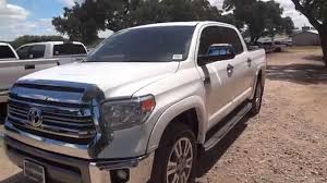 Toyota Tundra Diesel 2014 2016 Toyota Tundra 1794 Edition Review Youtube