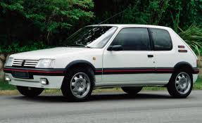 peugeot old models how to identify a 1990 1994 peugeot 205 gti phase 2 1 9l