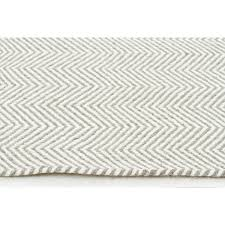 marstrand natural grey herringbone wool flatweave rug