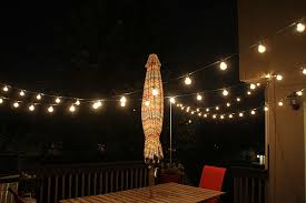 Where Can I Buy String Lights For My Bedroom Thrifty Thursday How To Hang String Lights The Deck