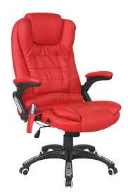 Computer Chair by Foxhunter 6 Point Massage Office Computer Chair Luxury Leather