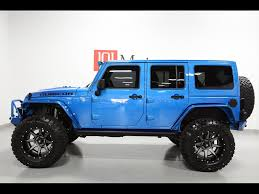 hydro blue jeep 2015 jeep wrangler unlimited rubicon hardrock for sale in tempe