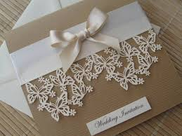 butterfly wedding invitations vintage themed wedding invitation laser cut butterfly design