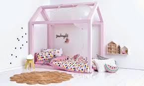 cabane fille chambre lit maison fille fabriquer lit cabane bois bonbon chambre
