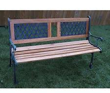 Argos Garden Bench Wooden Garden Bench Ebay