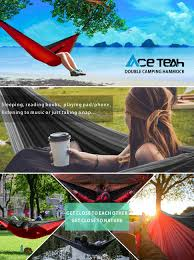 Winner Outfitters Double Camping Hammock by Amazon Com Double Hammock Outdoor By Ace Teah Camping Hammock