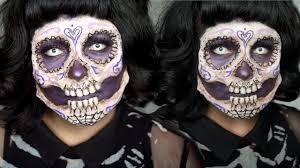 ben nye halloween makeup 3d sugar skull halloween makeup youtube