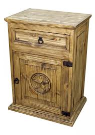 captivating rustic pine nightstand latest home decor ideas with
