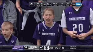 Boy With Braces Meme - northwestern crying kid on a roller coaster of emotions during game