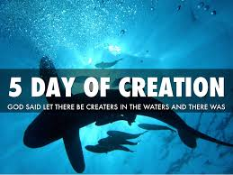 religion 7 days of creation by brock ranlett