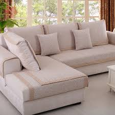 style de canapé style beige coffee cotton blended sofa cover slipcovers