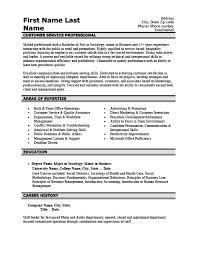 Customer Care Resume Sample Customer Service Professional Resume Template Premium Resume