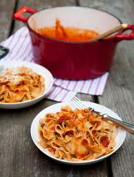 fresh tomato pasta sauce wholefully