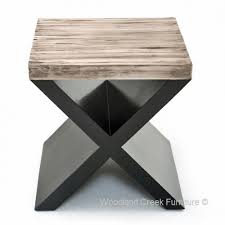 Contemporary End Tables Rustic End Tables Live Edge Nightstands Slab End Tables