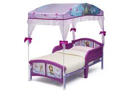 Purple Bed Canopy Frozen Toddler Canopy Bed Delta Children U0027s Products