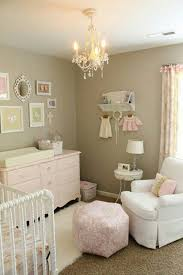 shabby chic nursery design decoration