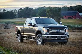 Ford F350 Work Truck - ford unveils 2017 super duty trucks redesigned aluminum body
