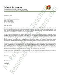 elementary school cover letter special education aide cover letter