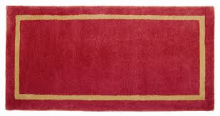 late 19th c hearth rug goods of the woods rectangular hearth rug