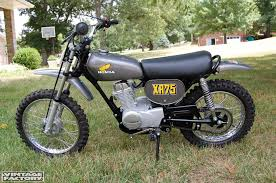 first motocross bike honda xr75 1974 motor bikes pinterest honda motocross and