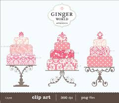 pink wedding cake clipart clipartxtras