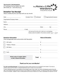 Charitable Contribution Receipt Template Donation Tax Receipt Template Donation Receipt Freewordtemplates