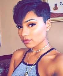 really cute pixie cuts for afro hair gorgeous ideas about pixie cut for black women pixie cut black